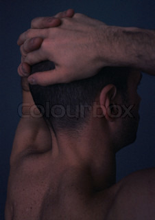 Image of 'head, nudity, male'