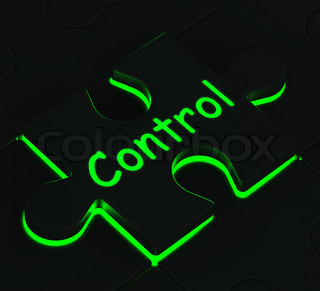 Control Puzzle Shows Remote Operating