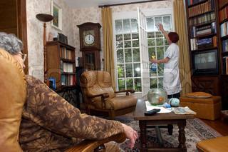 Image of 'elderly, nursing home, nursing'