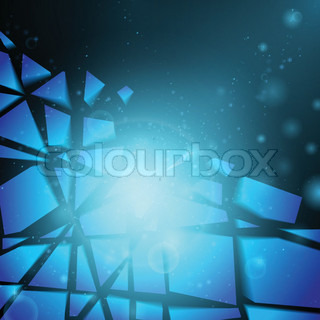 Business background Technology background Business card Technology abstract Bright background Blue background Glowing background