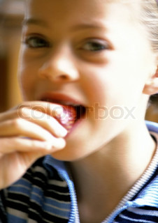 Image of 'vitamins, eating, kid'