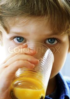 Billede af 'børn, juice, barn'