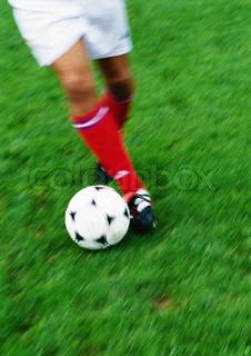 Bild von 'Wiese, Sportler, begleichen'