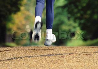 Image of 'feet, jog, run'