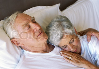 Image of 'sleep, old people, elderly'