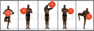 Image of 'nudity, ball, position'