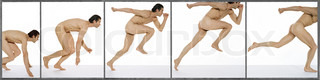 Image of 'person, gymnastics, panoramique'