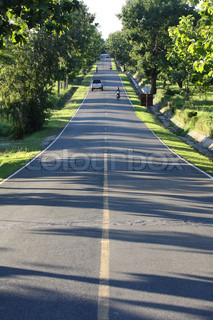 Asia country road