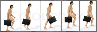 Image of 'nude, walking, nudity'