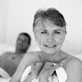 Image of 'old, couple, bed'