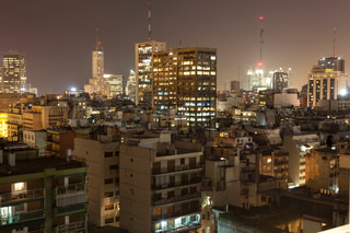 buenos aires in the night