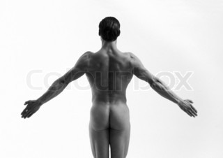 Image of 'naked, silhouette, arms'