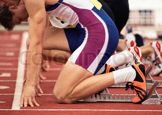 Image of 'sprint, competition, athlete'