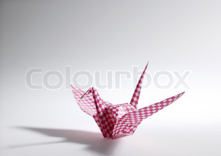 Image of 'origami, bird, paper'