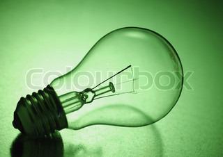 Billede af 'energibesparelse, Idee, elpære'