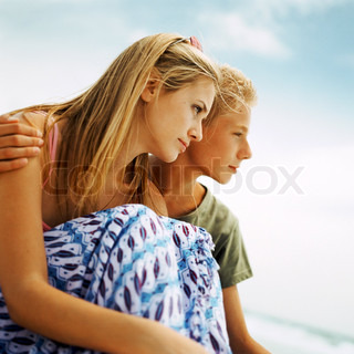 Image of 'teens, teenage, couple'