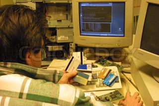 Billede af 'Internet, fraude, hacker'