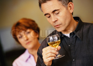 Image of 'alcohol, couple, discord'