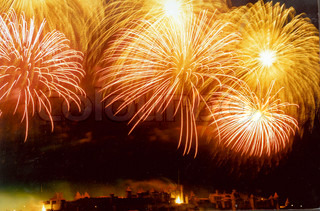 Bild von 'Silvester, Feuerwerk, im Freien'