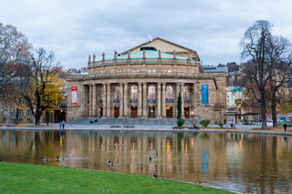 The Opera House of Stuttgart State Theatre Germany