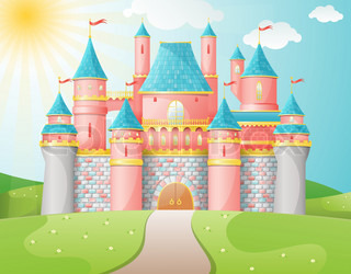FairyTale castle illustration