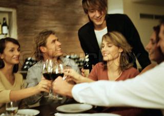 Billede af 'restaurant, middag, gæster'
