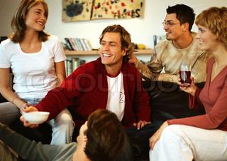 Billede af 'gæster, gæst, drikkevarer'