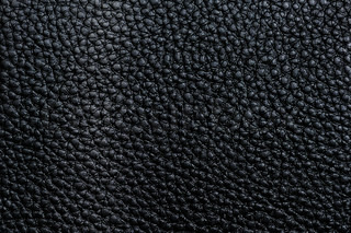 Old Black Leather Texture For Background