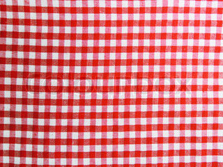 Red picnick background