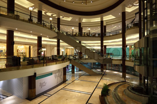 Interior of the Lagoona Mall in Doha, Qatar Photo taken at 8th of January 2012