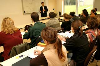 Bild von 'Schüler, Kurs, Hörsaal'
