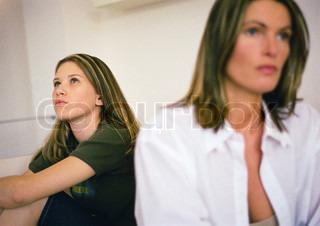 Image of 'conflict, teenage, parent'