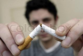 Bild von 'zigarette, einstellung, nahaufnahme'