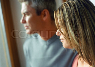 Image of 'worried, parents, couple'