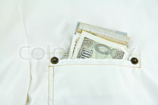 Money Inside Front Pocket