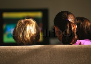 Image of 'tv, watching, television'