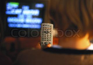 Bild von 'Fernseher, Kind, Kinder'