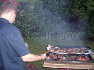 Image of 'barbecue, meal, cooking'