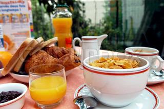 Billede af 'morgenmad, ikke-alkoholiske, croissant'