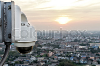 dome type outdoor cctv camera to secure nonthaburi province