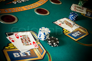 Image of 'hold, gamble, chips'