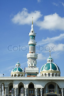 Minaret And Dome Of The Mosque