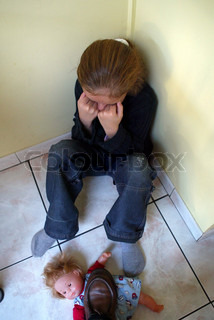 Image of 'child, abuse, sad'