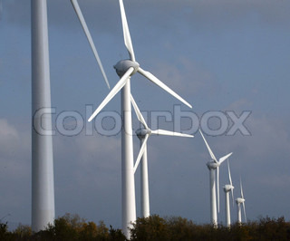 Bild von 'wind, windenergie, windpark'