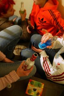 Billede af 'teenager, alkohol narkoman, drikkevarer'