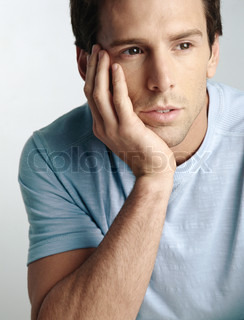Image of 'thought, man, mediter'