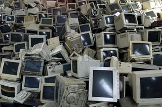 Billede af 'affald, computere, teknologi'