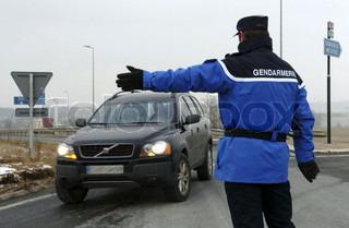 Image of 'road safety, gendarmerie, transport routier'