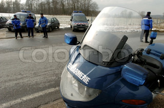 Image of 'gendarme, road safety, gendarmerie'