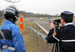 Image of 'speed, police, speed trap'